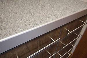 Residential frameless cabinets